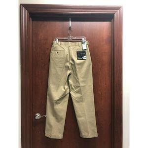 Savane Khaki Pants 32 x 30 Cotton Permanent Crease